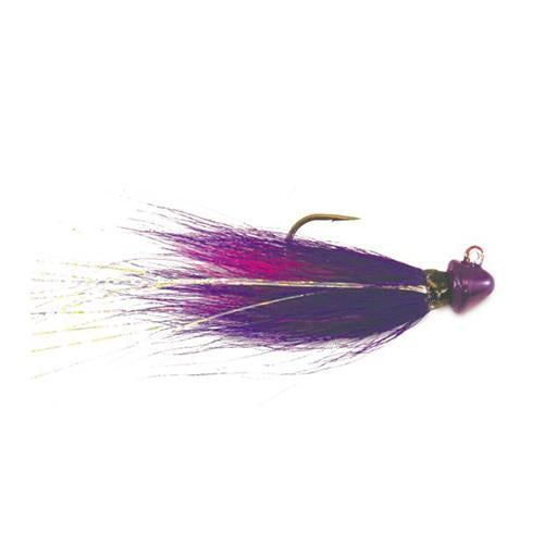 Kalin's Hot Hair Jig - Walleye 1/2 oz / Purple/Chartreuse Hard Baits