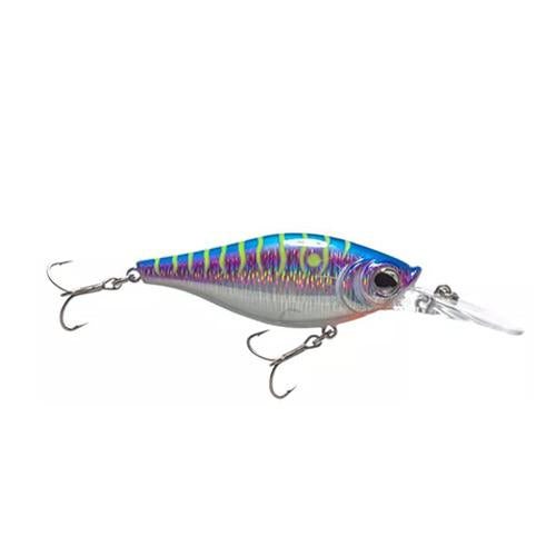 Walleye Nation Creations Shaky Shad 7 / Purple Tiger Hard Baits