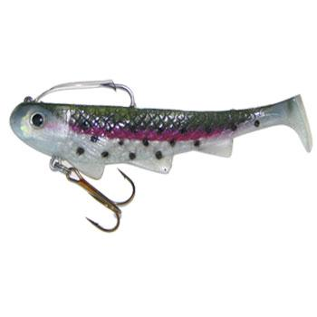 "Reaction Strike 8"" Shimmy Shad - Rainbow Trout"