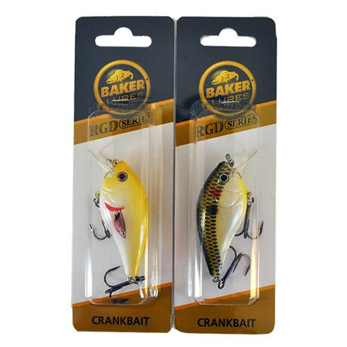 Baker Lures 1/2 oz Suspending Crankbait 2 Piece Assortment Sets & Bundles