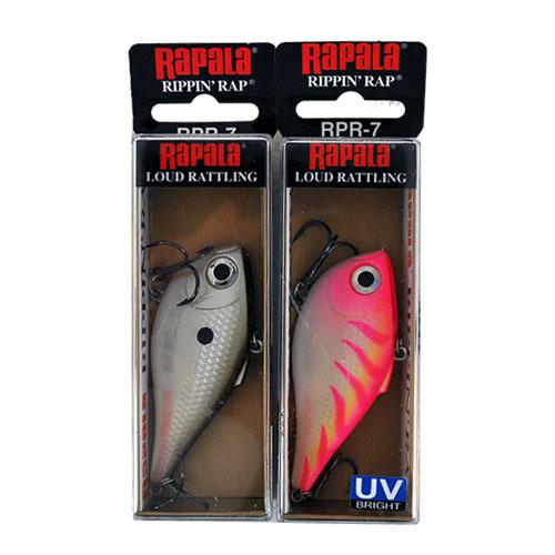 Rapala 1/2 oz Rippin' Rap 2 Piece Assortment Sets & Bundles