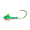 Mission Tackle Rock Chuck Jig Head - 3 Pack 3/8 oz / Rainbow Trout Hard Baits