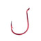 Mustad Double Wide Gap Drop Shot Hook Red / 1/0 Terminal Tackle