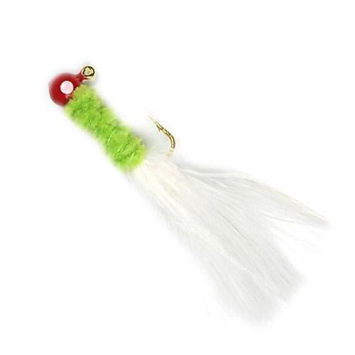 Johnson Beetle Bou 1/32 oz / Red/Chartreuse/White Hard Baits