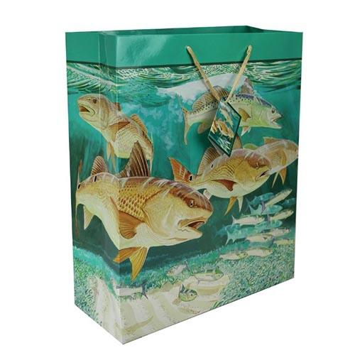River's Edge Themed Gift Bag Large / Redfish Accessories