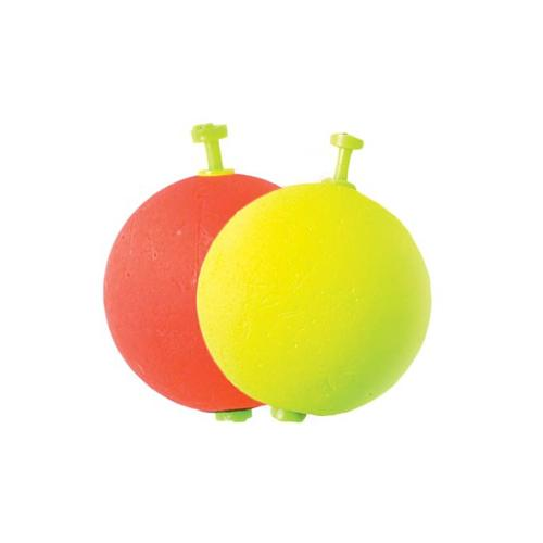 Eagle Claw Weighted Foam Round Floats - 6 Pack