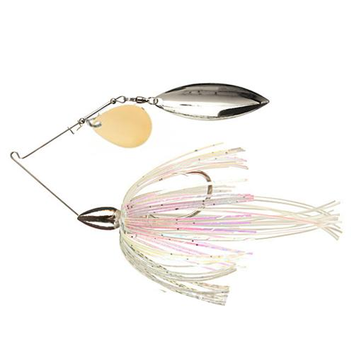 War Eagle Nickel Tandem Willow Spinnerbait