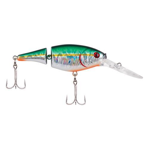 Berkley Flicker Shad Jointed - 5 cm Slick Green Alewife Hard Baits