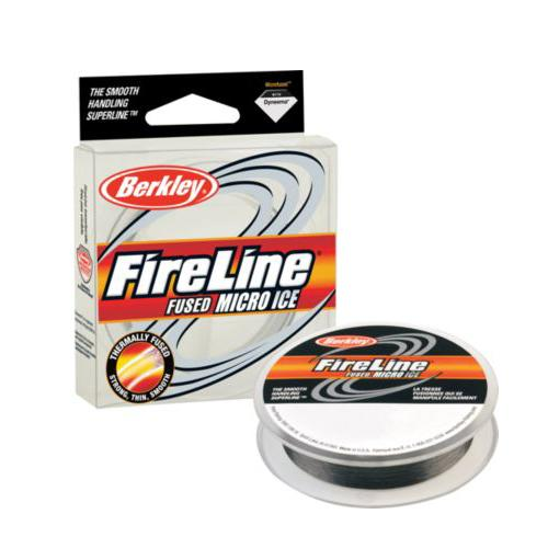 Berkley FireLine Fused Micro Ice Fishing Line - 50 Yards
