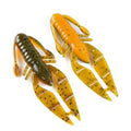 "PowerTeam Lures 3.5"" Craw D'oeuvre - 8 Pack The Natural Soft Baits"