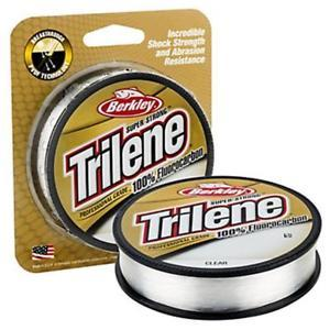 Berkley Trilene 100% Fluorocarbon Line - 200 Yards - Clear