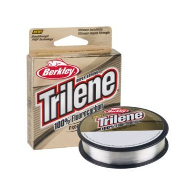 Berkley Trilene 100% Fluorocarbon Line - 110 Yards - Clear