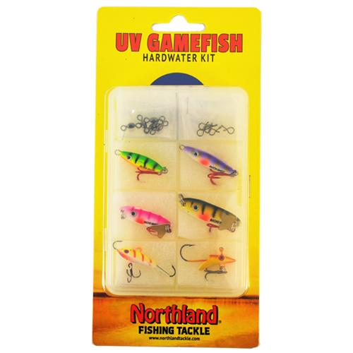 Northland Tackle UV Gamefish Hardwater Kit Hard Baits