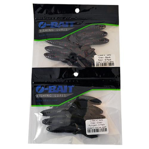 "O-Bait 4"" Versi Craw 2 Piece Assortment Sets & Bundles"