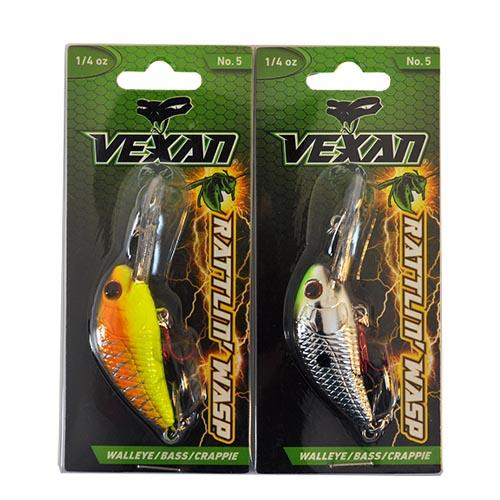 Vexan Vern's Stoneroller Crankbait 2 Piece Assortment Sets & Bundles