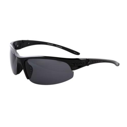 SpiderWire Venom-inem Sunglasses - Gloss Black/Smoke - M/L