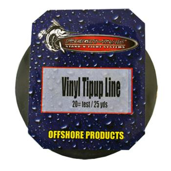 Lakco Nylon Tip Up Line - 25 Yard Spool