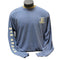 War Eagle Logo Long Sleeve Shirt - Steel Blue - XL Accessories