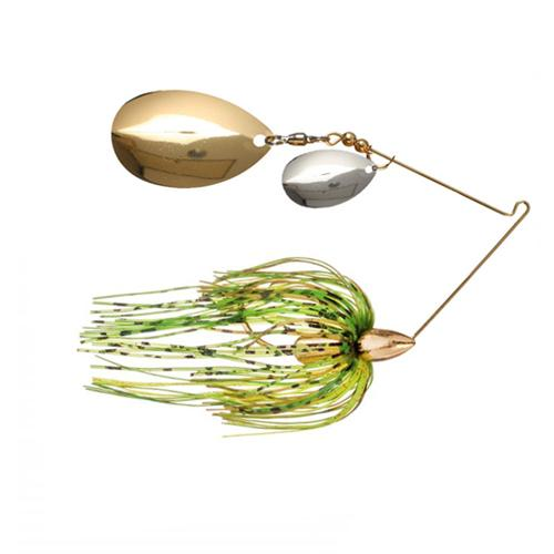 War Eagle 1/2 oz Screaming Eagle Gold Tandem Indiana Spinnerbait