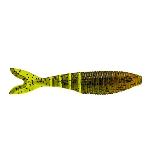 Gary Yamamoto Zako Swimbait - 6 Pack Fading Watermelon/Black Flake Soft Baits