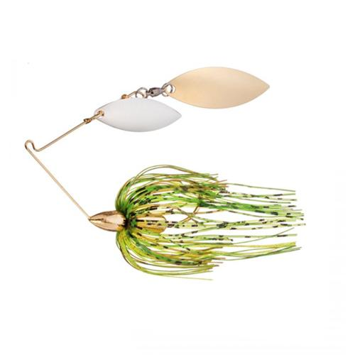 War Eagle 1/4 oz Gold Frame Double Willow Spinnerbait