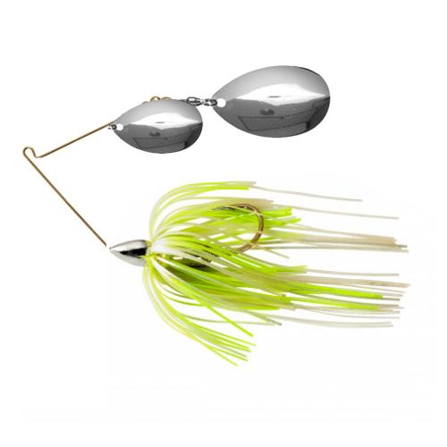 War Eagle Nickel Tandem Indiana Spinnerbaits