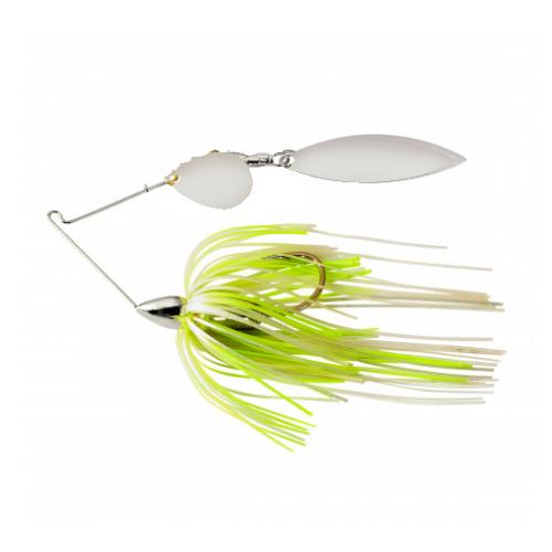 War Eagle 1/2 oz Screaming Eagle Tandem Willow - White/Chartreuse Pearl
