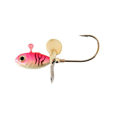 Apex 1/4 oz Whiplash Jig - 3 Pack White/Pink