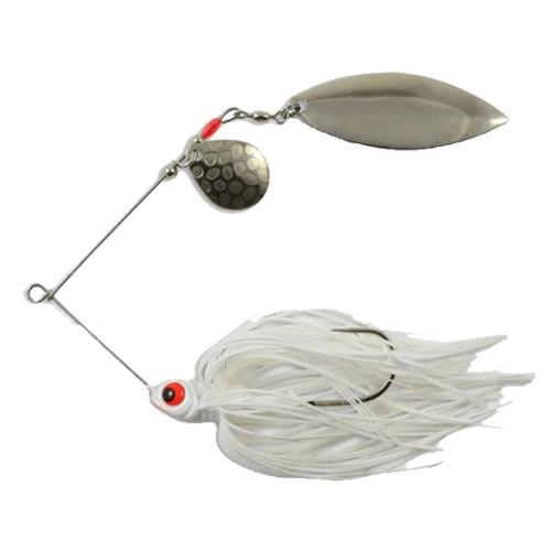 Northland Reed-Runner Tandem Spinnerbait 1/2 oz / White Shad Hard Baits