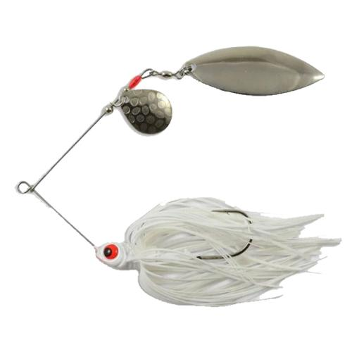 Northland Reed-Runner Tandem Spinnerbait 3/8 oz / White Shad Hard Baits