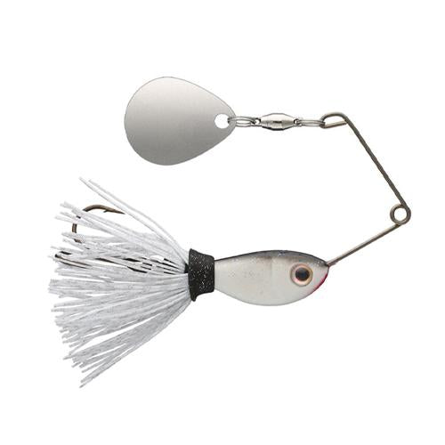 Strike King Rocket Shad Spinnerbait 1/4 oz / White Shad Hard Baits