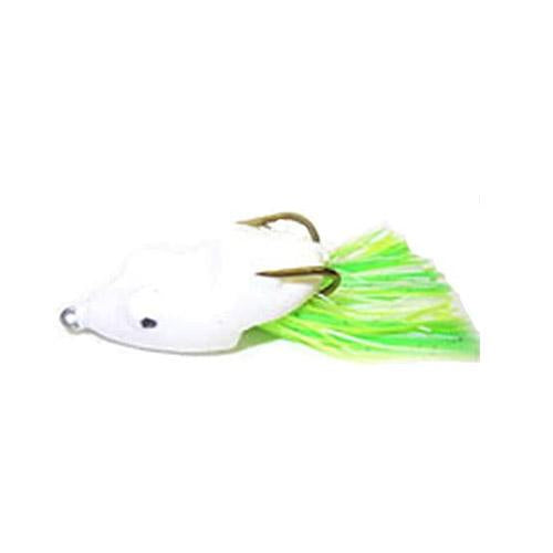 Snag Proof SK Frog White Soft Baits