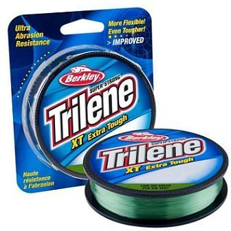Berkley Trilene XT Fishing Line - 300 yards 10 / Low-Vis Green Fishing Line