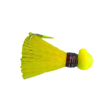 Bagley 1/8 oz Pompano Jig - Yellow - 3 Pack Default Title