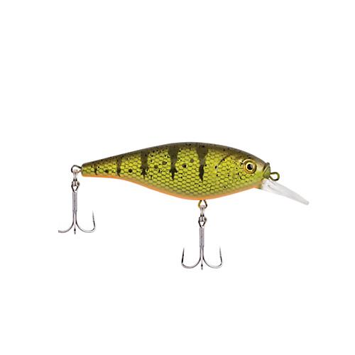 Berkley Flicker Shad Shallow - 7 cm Yellow Perch Hard Baits