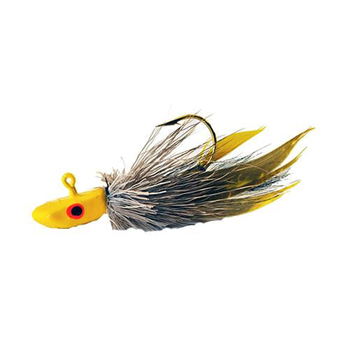 Gapen's The Muddler Jig 1/32 oz / Yellow Hard Baits