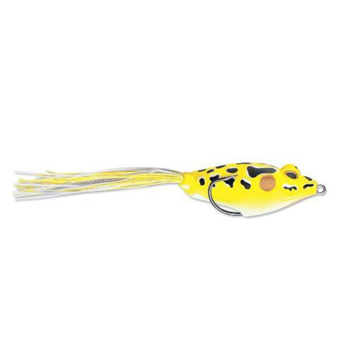 Terminator Walking Frog Jr. Yellow Leopard Soft Baits