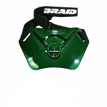 Braid Sailfish Stealth Carbon Fiber Finish Belt - Gloss Green