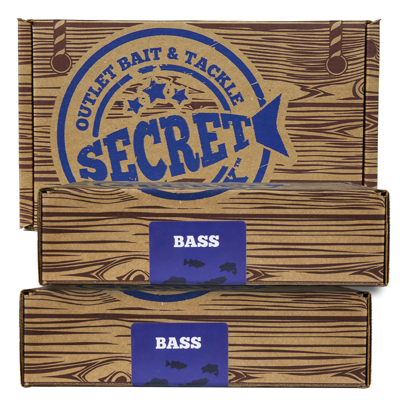 Secret Bait Box Bass Edition 3 Month Gift Edition Secret Bait Box