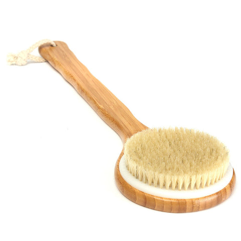 Bristle Long Handle Wooden Bath spa brush