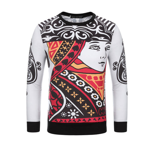 King Print Sweatshirt