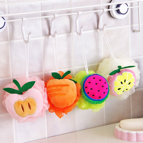 Fruit shape bath sponge