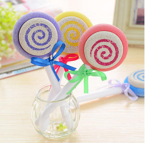 Cute Lollipop Pedicure Foot File Scraper Scrubber