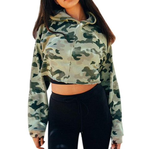 Camouflage  Hoodie Pullover High Quality Cotton