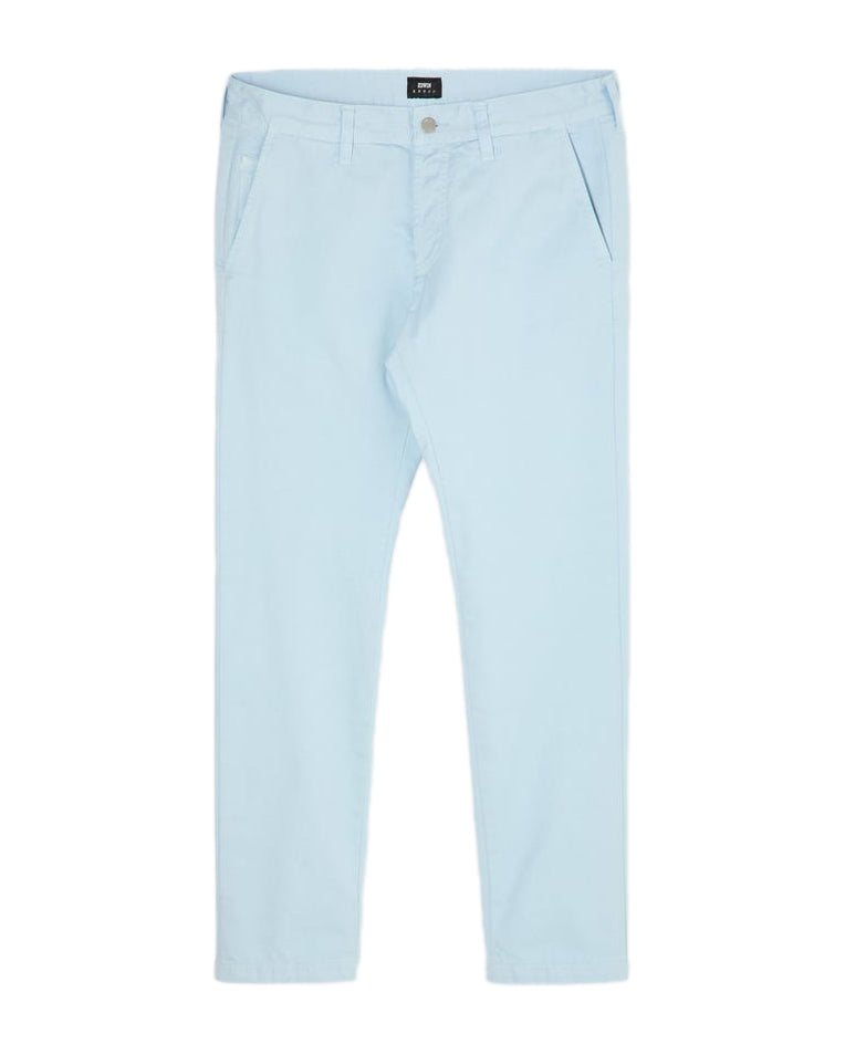 55 Chino - PFD Compact Twill - Cerulean - Garment Dyed