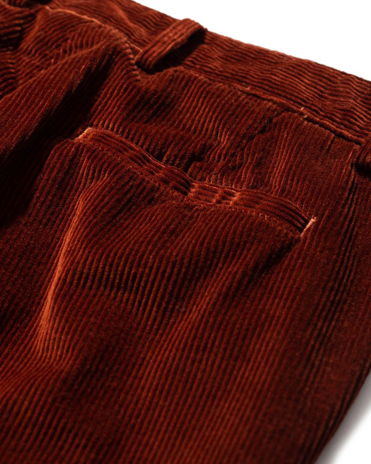 Albin 8 Wale Cord - Madder Brown