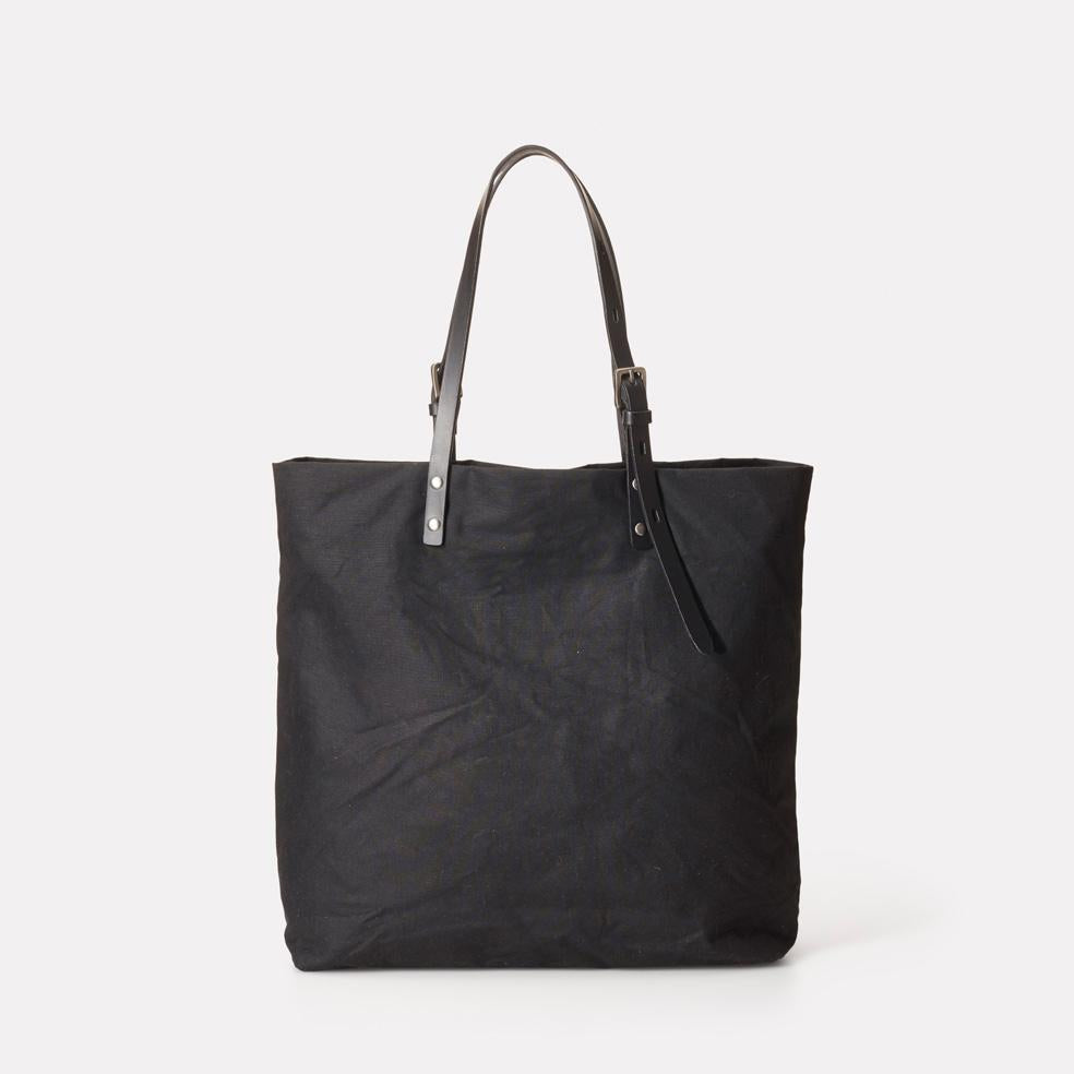 Natalie Waxed Cotton Tote