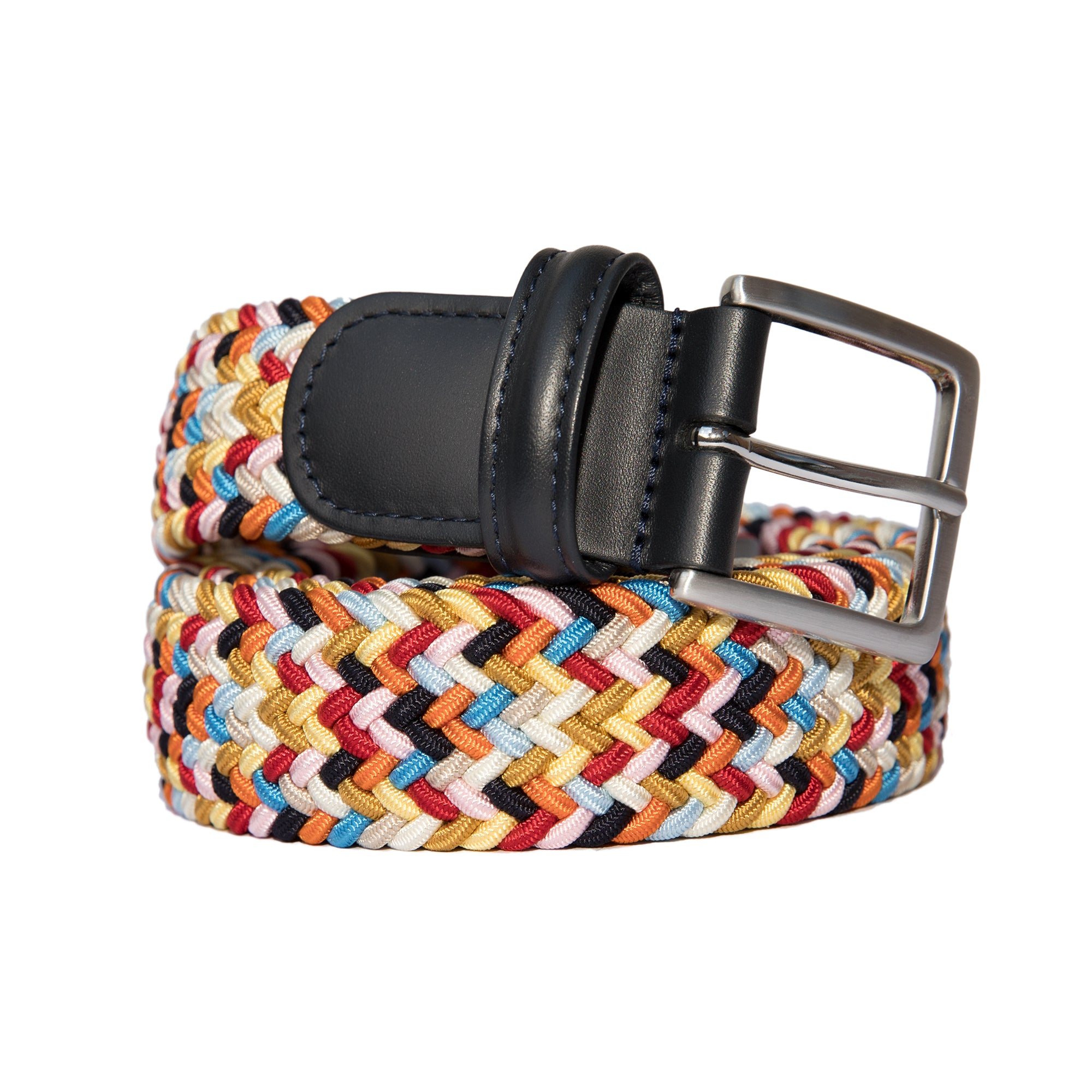 Woven Elastic Belt - Multicolour Bright