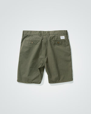 Aros Light Twill Shorts - Ivy Green