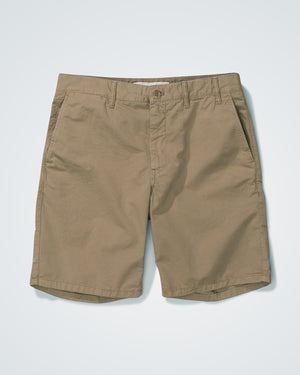 Aros Light Twill Shorts - Utility Khaki